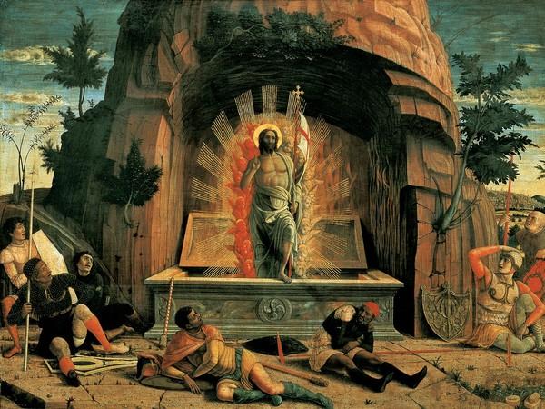 -Andrea-Mantegna_Ressurrezione Museé des Beaux Arts di Tours (Francia)